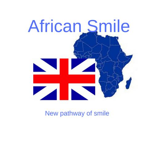 logo africansmile.uk